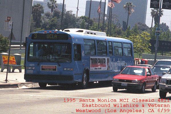 MCI Classic 4811 Eastbound Wilshire Bl & Veteran Av ... Westwood CA