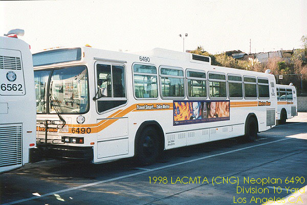 1998 CNG Neoplan 6490